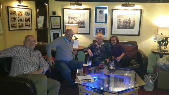 The Wensleydale Heifer : warm lounge