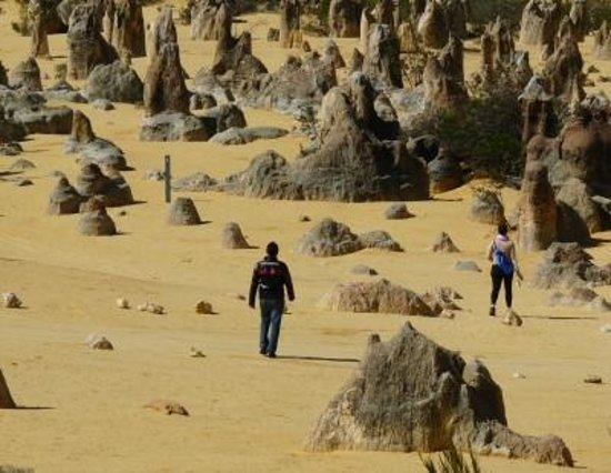 Scarborough Beach: The Pinnacles - it is out-of-this-world ....