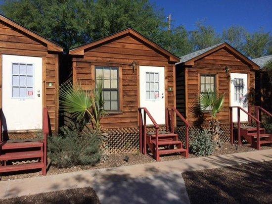 La Siesta Motel : Charming Wood Cabins - Freestanding