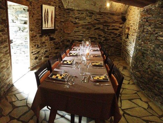 Restaurant Le Cavier : la salle intime