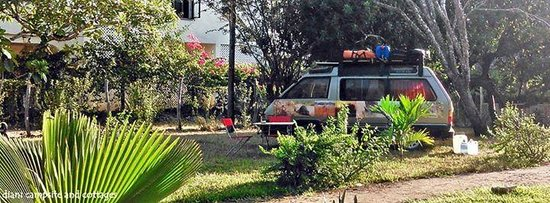 Diani Campsite and Cottages: caravan camping