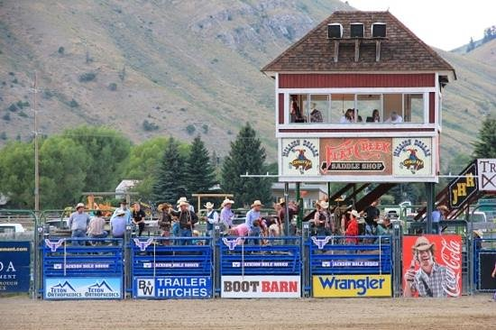 Jackson Hole Rodeo Grounds : Jackson rodeo