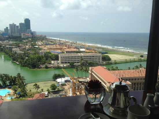 Hilton Colombo : Seaview from my Club Floor Room