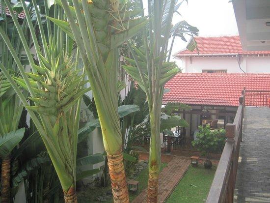 Hoi An Riverside Bamboo Resort : Aussicht auf den Restaurantbereich