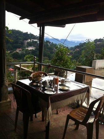 Blinkbonnie  Inn: View from the restaurant