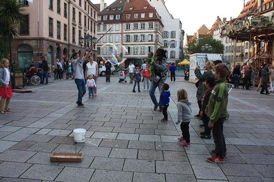 Place Gutenberg - Hayatın canlılığı
