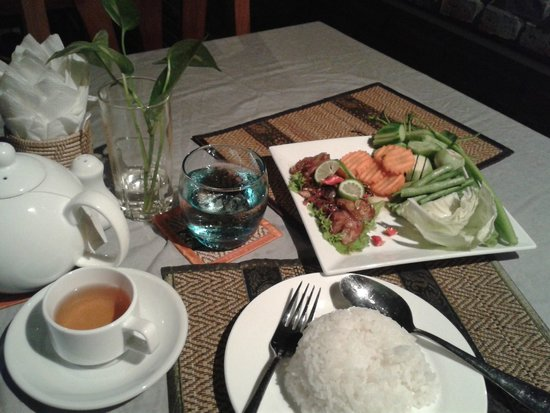 The Coconut House: Khmer marinated fish (salty)