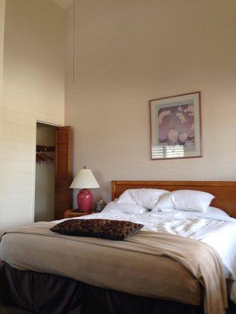 Calistoga Spa Hot Springs: Upstairs room
