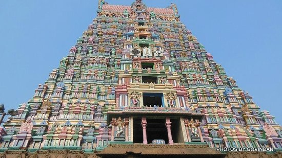 Srivilliputhur, India: Srivalliputtur Temple