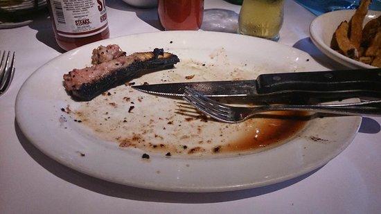 Frank's Steaks: All gone (New York Prime Strip Steak)