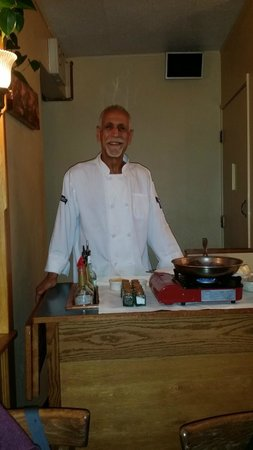 Cafe Soriah: Chef and Owner