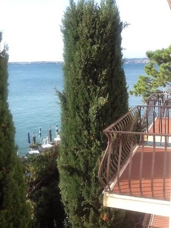 Hotel Marconi: view from the balcony