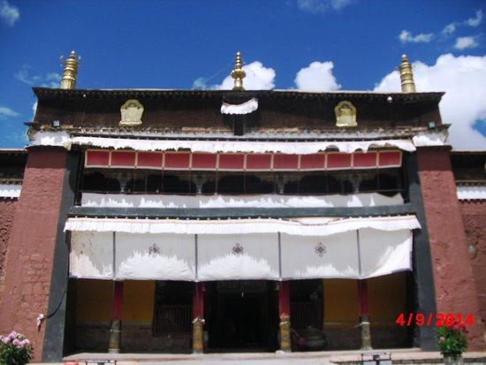 Monastère Palkhor et Stupa de Kumbum : One of The Main Temple