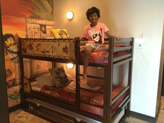 The Premium Adventure Room With Its 3 Bunk Beds For The Kids Has