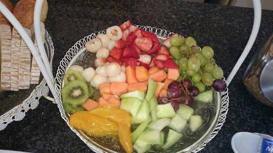 Tesorino B&B: Breakfast fruit