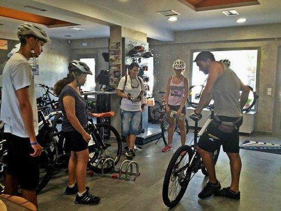 Santorini MTB Adventures: The basic informations we need