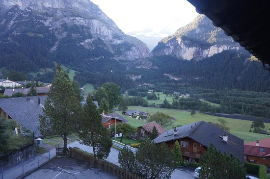 Lehmann`s Herberge: looking from our room