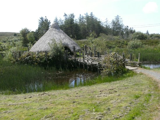 Dan O'Hara's Homestead Farm: Celtic Hut