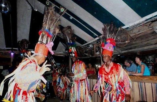 Mr. X's Shiggidy Shack Beach Bar: Carnival Dancers