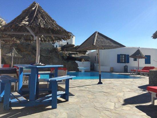 Aegean Hotel : POOLBEREICH