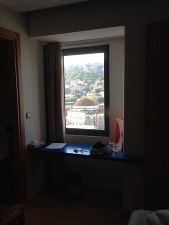 A for Athens: That is not a photo frame. That is a window with view of Acropolis