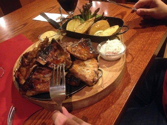 Restaurace 22: spare ribs