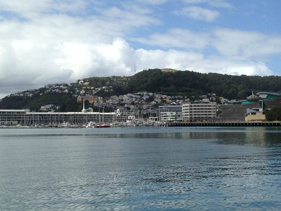 Copthorne Hotel Wellington Oriental Bay View Towards From Waterfront