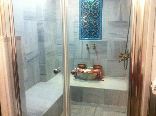 Hotel Seraglio : Lovely hammam in our room