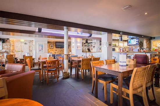 The Lifeboat Inn: Our restaurant mixes history and seafaring themes with a great environment to enjoy a meal