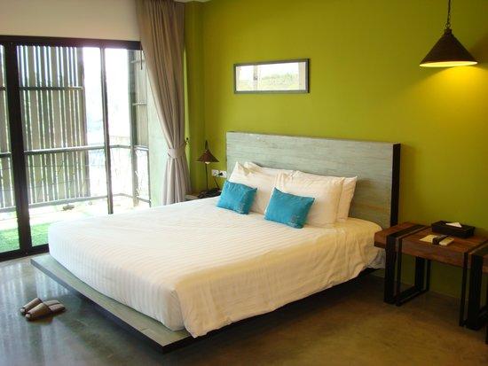 Amphawa Na Non Hotel & Spa : Chambre