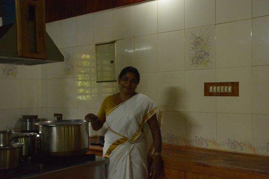 Ayurveda Yoga Villa: our cook