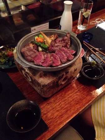 Busshari Japanese Restaurant: Wagyu beef tobanyaki