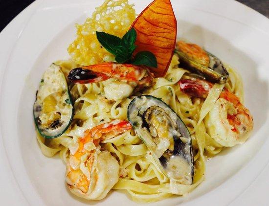 Moustakallis Tavern: Sea food pasta