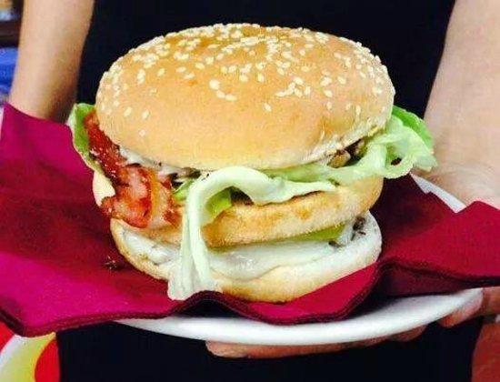 Ristorante FUORI ZONA: hamburger ricco