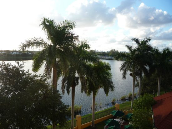 La Quinta Inn & Suites Ft. Lauderdale Airport: Waking up to this view!