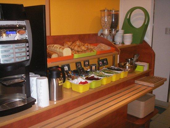 Ibis Budget Saint Lo : breakfast