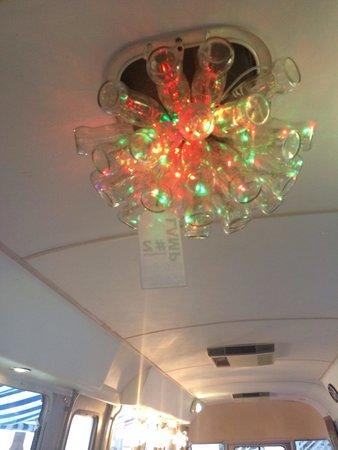The Tube Diner: Coke bottle lights !