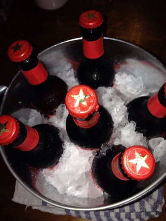 can balache: Ice cold bucket of beer!