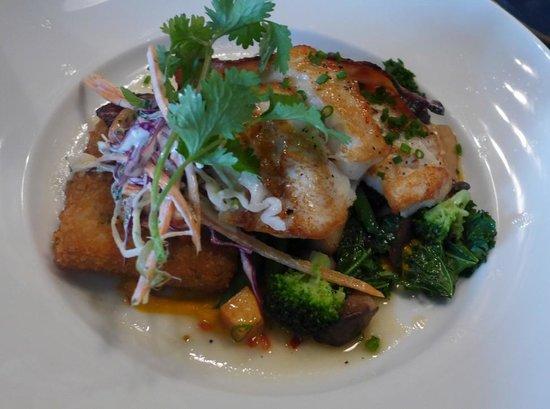 Fraser Cafe: Delicious Lingcod