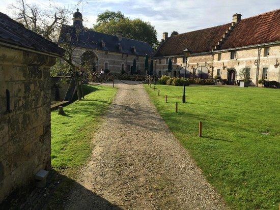 Schaloen Castle : Brasserie & terras