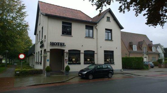 Hotel Olympia Bruges : Het hotel