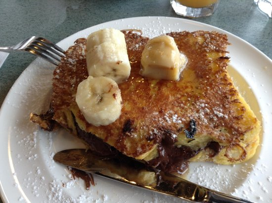 Triple D's Diner: French Toast Pocket