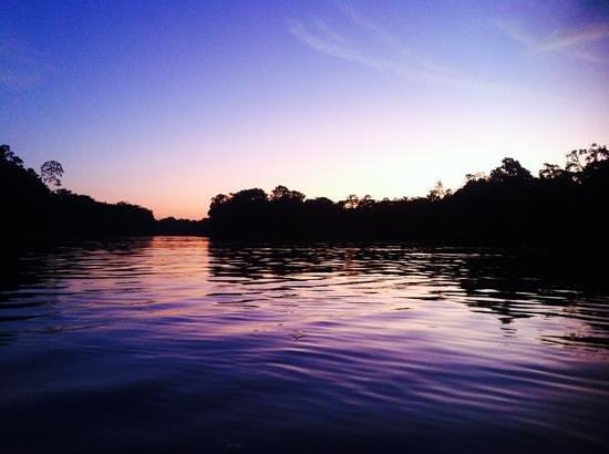 Tapiche Reserve: sunset heaven