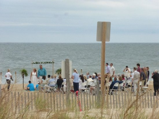 Rehoboth Beach Wedding Picture Of Public