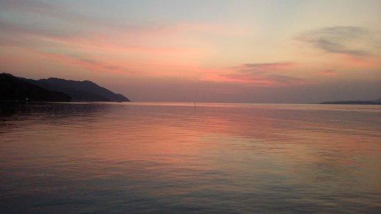 Kri Eco Resort: from kri's jetty deck