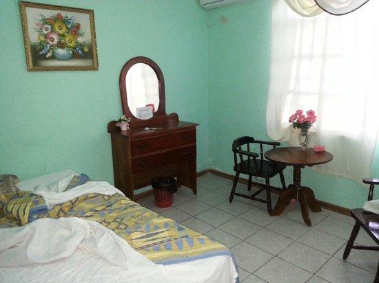 Mirador Hotel: Our room at the mirador