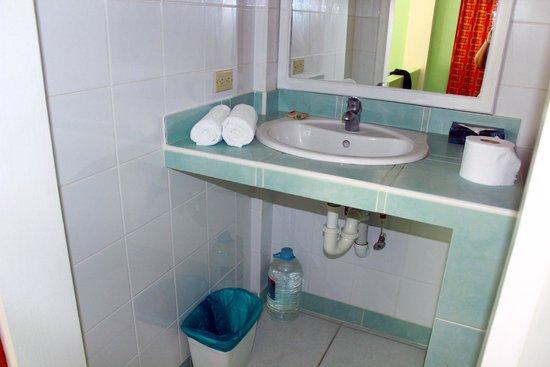 Tobago's Hibiscus Golf Villas & Apartments : Bathroom sink
