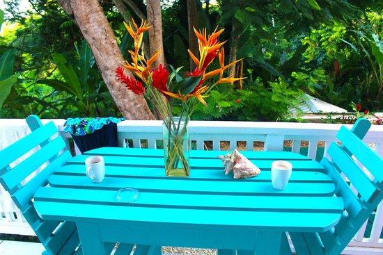 Tobago's Hibiscus Golf Villas & Apartments : As you open the door...