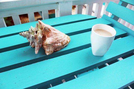 Tobago's Hibiscus Golf Villas & Apartments : Morning brew