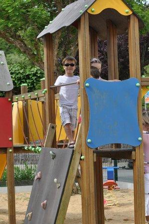 Camping La Prairie : Aire de jeux